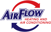 Air Flow Heating Logo